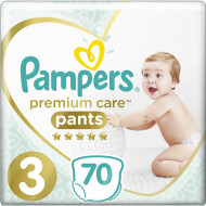 Трусики Pampers Premium Care Midi 6-11 кг 70 шт
