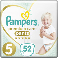 Трусики Pampers Premium Care Junior 12-17 кг 52 шт