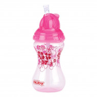 Поильник Nuby Flip-it Sippy Cup Pink 300 мл