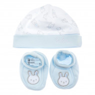 Комплект BluKids Bio Cotton Bebe Hare White