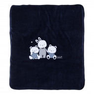 Одеяло BluKids Bio Cotton Bebe Bears Blue 70х80 см