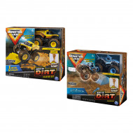 Игровой набор Monster Jam Dirt Starter Set Megalodon Brand New 1:64