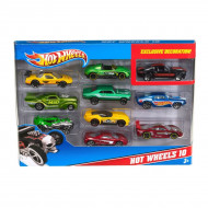 Автомобиль базовый Mattel Hot Wheels, 10 шт