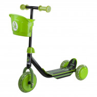 Самокат Stiga Mini Kid 3w Kick Scooter Black Green