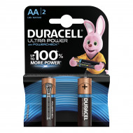 Батарейки Duracell Ultra Power AA 1.5V 2 шт