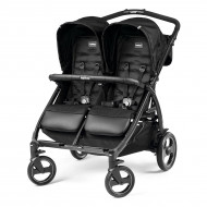 Коляска Peg-Perego Book For Two Class Black