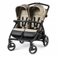 Коляска Peg-Perego Book For Two Class Beige