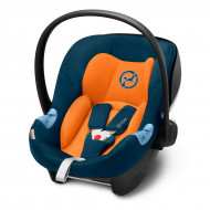 Автокресло Cybex Aton M i-Size Tropical Blue navy blue