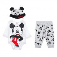 Комплект BluKids Gray Mickey Mouse