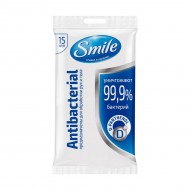 Cалфетки Smile Antiseptic, 15 шт.