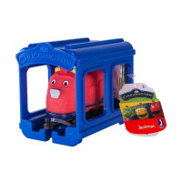 Паровозик Chuggington Джекман с гаражом